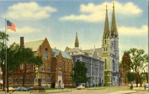 Marquette University Old Postcard[1]