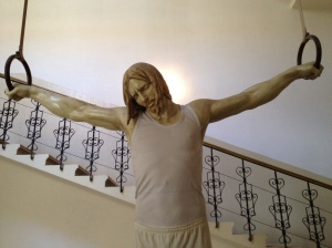 Jesus at the gym