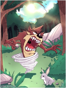 Tasmanian_Devil_and_Bugs_Bunny_by_erickenji[1]