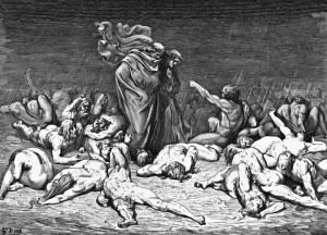Dante - La Divina Comedia - Canto VI - Doré - Descontexto-2