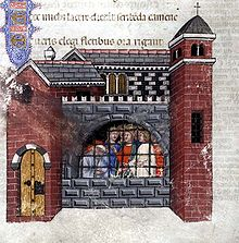 220px-Boethius_imprisoned_Consolation_of_philosophy_1385