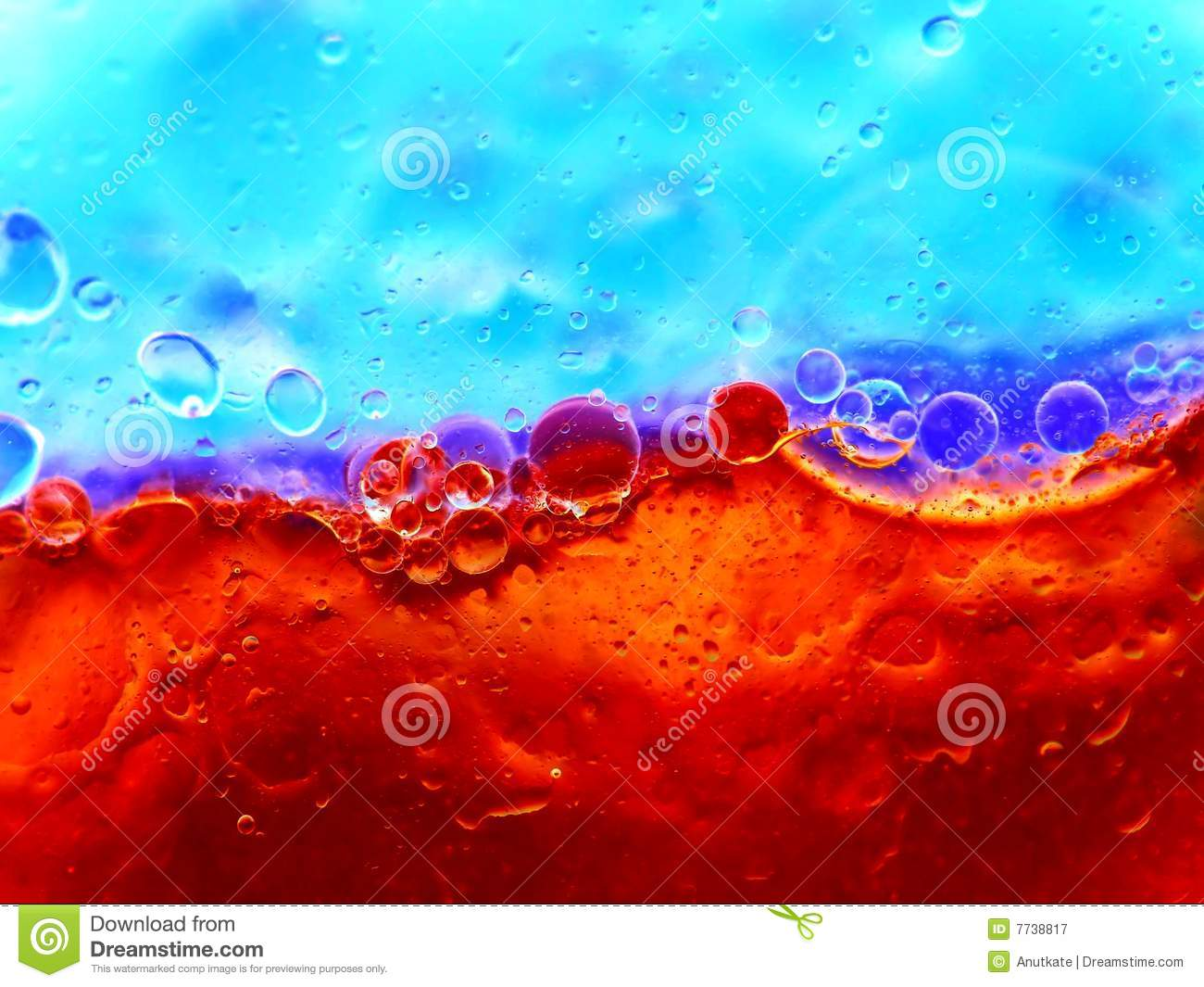 Red and Blue Bubbles - Freelance Christianity